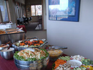 We provide professional catering services